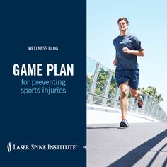 #Sports injuries are one of the leading causes of pain. Here are six simple conditioning steps you can do right now to help you avoid sports-related pain. Laser Spine Institute