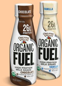 FREE Organic Valley MILK PROTEIN SHAKE GIVEAWAY on http://hunt4freebies.com