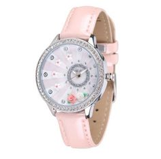 Pink 3D Mini World Watch - Blooming Flower via Fashionista Secret Shop. Click on the image to see more!