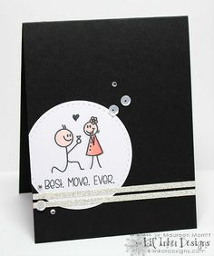 Mama Mo Stamps: Lil' Inker February Release Blog Hop - Day Two  using It's Today, Right?