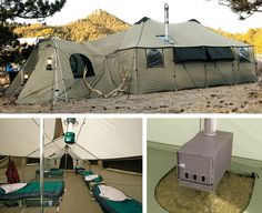 Great for a family reunion? Cabela's Ultimate Alaknak Tent