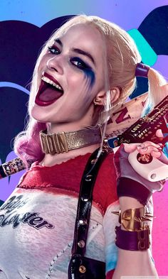 30 best Harley Quinn Mobile Wallpaper pictures in the best available resolution. Harley And Joker Love, Harley Quinn Cosplay, Joker And Harley Quinn, Harey Quinn, Harley Quinn Drawing, Margot Robbie Harley Quinn, Female Villains, Daddys Lil Monster, Queen Aesthetic