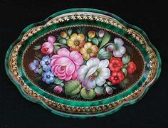 russian tole painting - Bing Images