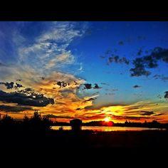 @mattymckayguitar  Big Valley Jamboree sunset.