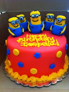 Despicable Me Cake — Childrens Birthday Cakes