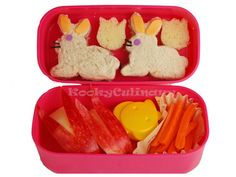 Best toddler bento box website!  Erika McCullough...they have the bunny apples I told you about!!!