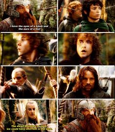 Pippin and Merry's faces are amazing