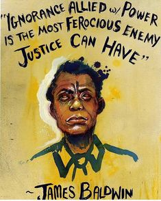 Love this! (by @mollycrabapple) #jamesbaldwin #art #quotes