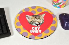 Cry BABY yelling KITTEN mousepad