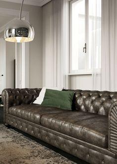 Decoro Divani In Pelle.7 Fantastiche Immagini Su Poltrone E Divani Chairs Home Decor E