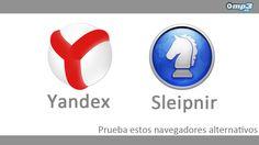 Presentamos dos navegadores alternativos - Si están cansados de utilizar los mismos navegadores de siempre. O sólo desean conocer otras alternativas. Lean nuestra reseña sobre dos browsers que tienen mucho para ofrecer: Yandex y Sleipnir. Luego, nos gustaría conocer su experiencia con ellos. ¡Gracias! http://blog.mp3.es/yandex-browser-y-sleipnir-navegadores-web-alternativos/?utm_source=pinterest_medium=socialmedia_campaign=socialmedia