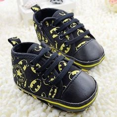 Baby Boy Batman Converse Infant Sneaker Crib Shoe 3-6,6-9,9-12 Months Size 2 3 4:
