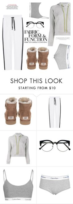 """Home is Where the Heart is..."" by hattie4palmerstone ❤ liked on Polyvore featuring UGG, Juvia, Balenciaga, Vera Wang, Calvin Klein and Kate Spade"
