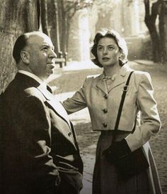 Alfred Hitchcock, Ingrid Bergman 1948