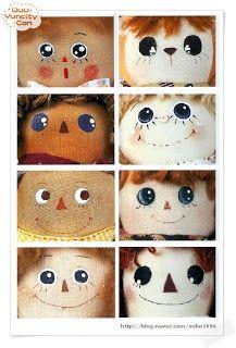 Mimin Dolls: rostinho