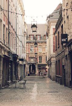 Lille, capitale des Flandres, Nord, France.