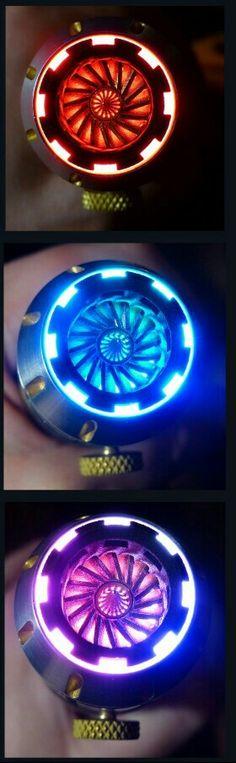Custom lightsaber blade plug http://goth-customsabers.ftl-network.com/log/turbine-blade-plugs/