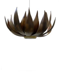 If only my living room was big enough....Palm Pod Chandelier.