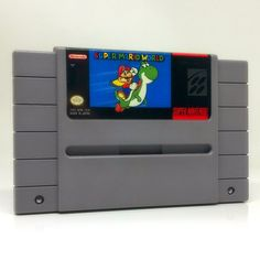 Super Mario World SNES Super Nintendo game, includes cartridge only. Cleaned, tested and comes with a FREE cart protector! Mario's off on his biggest adventure ever, and this time he's brought along a