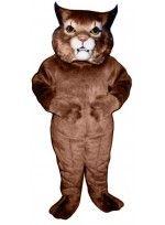 Mascot costume #542-Z Girl Wildcat
