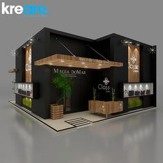 Modeling developed by studio Max, rendering using VRay and finishing in Photoshop. Exhibition Plan, Exhibition Stall Design, Stand Design, Booth Design, Restaurant Exterior, 4 Bedroom House Plans, 3d Studio, Cafe Design, Interior Architecture