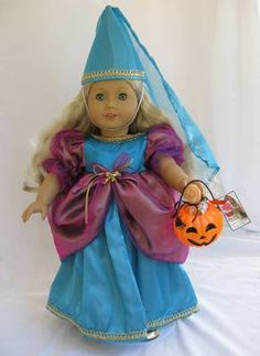 OOAK Princess Halloween Costume for American Girl Caroline Cecile Saige | eBay