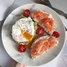 64 Ideas for Healthy Breakfast Snacks - Healthy Food Think Food, I Love Food, Good Food, Yummy Food, Tasty, Healthy Snacks, Healthy Eating, Healthy Recipes, Diet Recipes