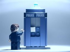 The doctor in Lego