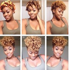 How to transition from relaxed to natural hair in 7 steps short diy those perm rod curls pretty do black hair information community solutioingenieria Images