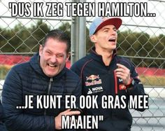 Max Verstappen en vader Jos Verstappen