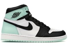 Buy and sell authentic Jordan 1 Retro High Turbo Green shoes and thousands of other Jordan sneakers with price data and release dates. Jordan Shoes Girls, Girls Shoes, Jordan Outfits, Retro Jordan Shoes, Shoes Women, Ladies Shoes, Best Jordan Shoes, Outfits With Jordans, Pink And Black Jordans