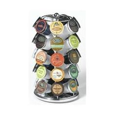 Nifty 5735 35 K-Cup Carousel for Keurig Coffee Cups - Chrome
