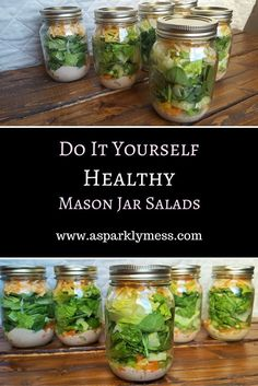 How to Make the Perfect Mason Jar Salad - perfect for a healthy lunch!