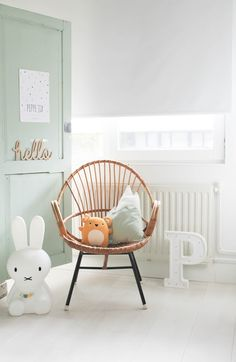 Kid's room inspiration | Miffy lamp available at www.istome.co.uk
