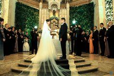 Casamento Nathália & Carlos #casamento #wedding #noiva #bride #noivo #groom #maids #people #dress #vestidos #igreja #church #cerimonia #ceremony