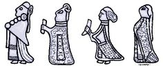 Viking women's clothing. What did the Viking women wear? - Bil, Captured by the Moon 8