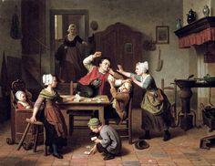 The Card Players - Basil de Loose