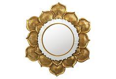 Floral Burst Mirror