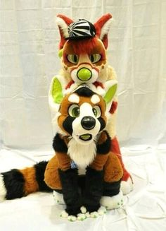 Fursuiters Love these guys, havoc and belle i believe