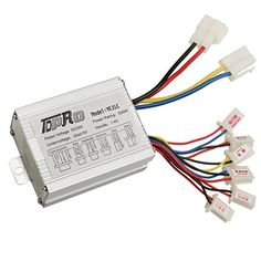 JCMOTO 24V 500W Brush Speed Motor Controller for Electric Scooter Bicycle e Bike Tricycle *** See this great product.