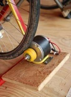 Bicycle-Driven Generator