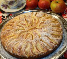 FOTORECEPT: Jablkový koláč s tvarohovým cestom Pie Dessert, 20 Min, Apple Pie, Cake, Desserts, Food, Basket, Tailgate Desserts, Deserts