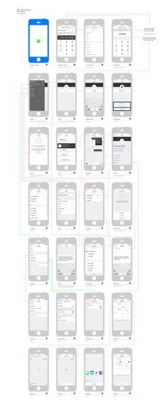 iOS7アプリ作成時に使えそうなワイヤーフレームToolkit                                                                                                                                                     もっと見る