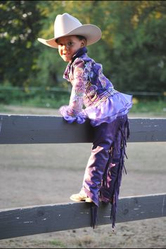 Adorable toddler show outfit by That's Fancy, Annie custom show clothes Little Cowboy, Cowboy And Cowgirl, Cowboy Hats, Toddler Shows, Lucy Rose, Horse Show Clothes, Half Pint, Western Pleasure, Girl Things