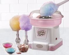 Electric Cotton Candy Maker Commercial Carnival Sugar Floss Machine Kids Party #ElectricCottonCandy