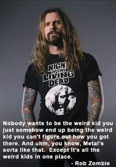 Rob Zombie Rock on freaks & weirdos!!!!