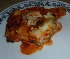 Domestic Randomness: Quick and Easy Lasagna