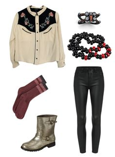 """""""ah yes subtlety"""" by nojawrabbit ❤ liked on Polyvore featuring Isabel Marant, Bamboo, Hue, women's clothing, women's fashion, women, female, woman, misses and juniors"""