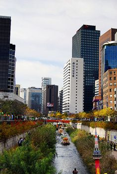 Cheonggyecheon, South Korea