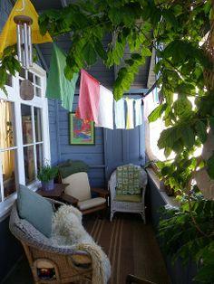 balcony green